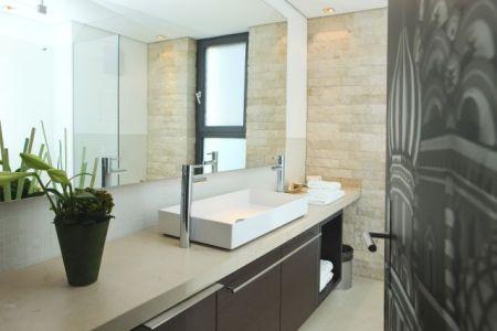 das moderne badezimmer die